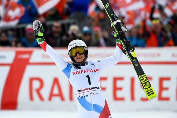 """Wendy Holdener - mit Startnummer 1 auf Platz 1 im """"FIS Nations Cup""""?   (Foto: © HEAD / Alain Grosclaude/Agence Zoom)"""
