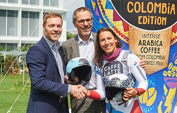 EMMI CAFFÈ LATTE ist neuer Hauptsponsor von Wendy Holdener (Foto: © Emmi)