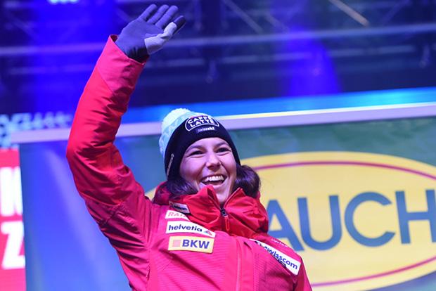 Einsatz von Wendy Holdener beim Ski Weltcup Auftakt wird kurzfristig entschieden (Foto: © Ch. Einecke (CEPIX))