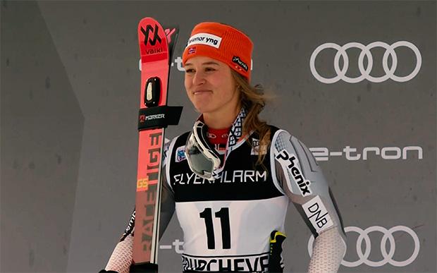 Für Mina Fürst Holtmann ist der heutige zweite Rang (fast) wie ein Sieg