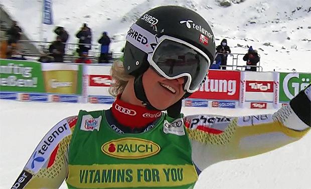 Triumph für Mina Fürst Holtmann beim heutigen Europacup-Riesenslalom in Andalo