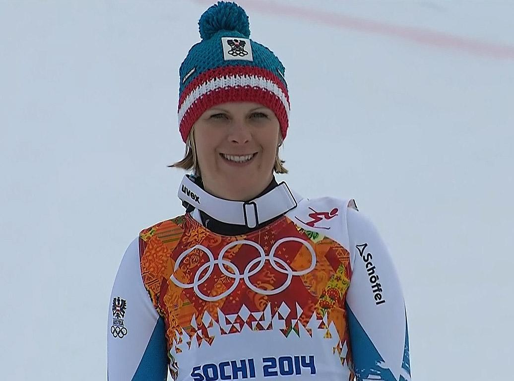 Silbermedaille: Nicole Hosp (AUT)