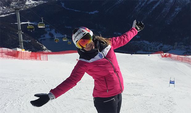 """Niki Hosp im Skiweltcup.TV-Interview: """"Man soll sein Leben genießen!"""""""