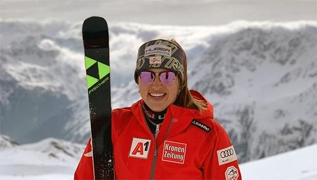 Die 23-jährige Katharina Huber wird ab der Saison 19I20 auf Fischer unterwegs sein. (Foto: © Fischersports.com)
