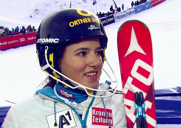 Katharina Huber tauscht Slalomskier gegen Laufschuhe