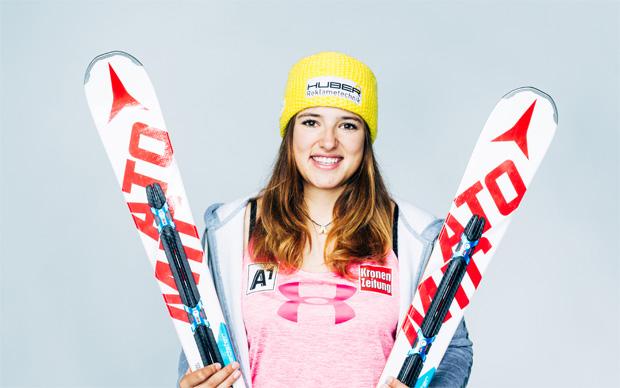 Katharina Huber gewinnt zweiten Slalom in Coronet Peak (Foto: Futterknecht)