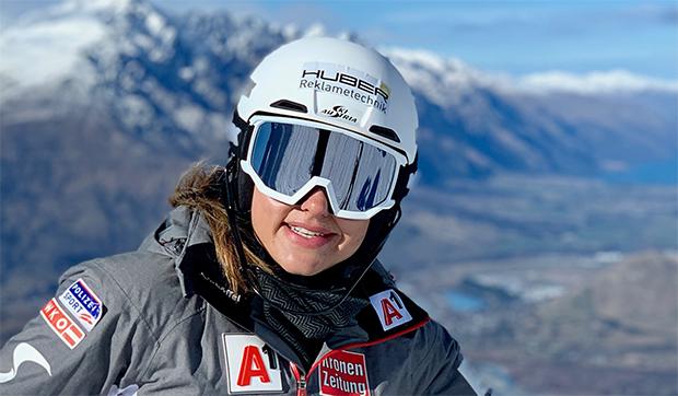 """Katharina """"Kathi"""" Huber im Skiweltcup.TV-Interview: """"Um Mikaela Shiffrin zu schlagen, muss man über das Limit hinausgehen!"""" (Foto: © Katharina Huber / Privat)"""