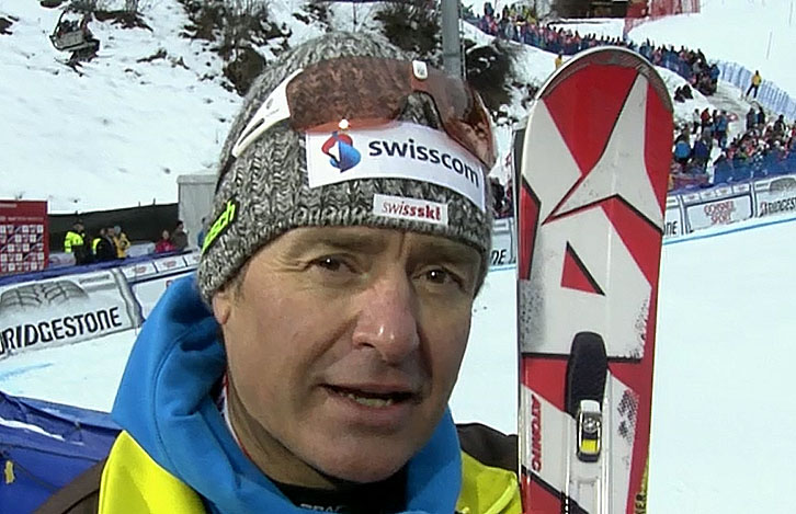 Schweizer Alpindirektor Rudi Huber