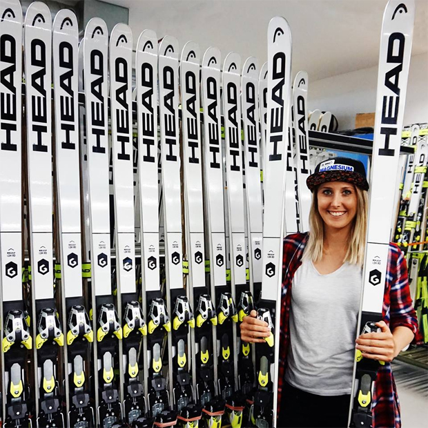 Conny Hütter geht in Südkorea mit Head-Ski auf Medaillenjagd (Foto: Conny Hütter / Facebook)