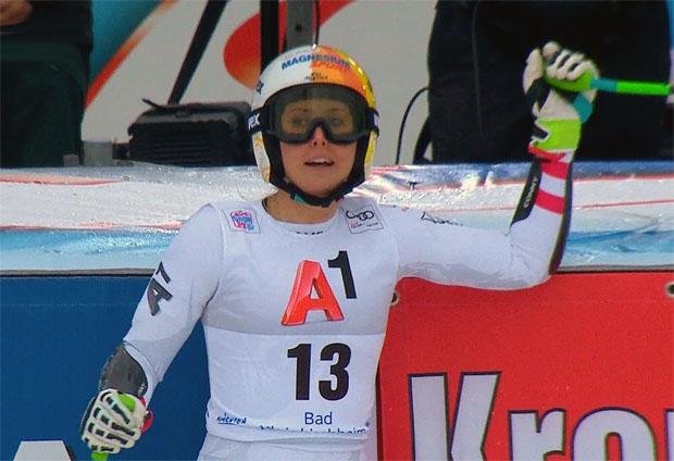 Cornelia Hütter Dritte, vier ÖSV Damen in den Top Ten