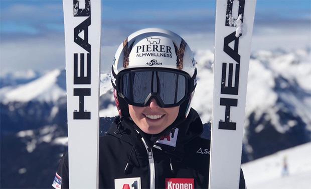 """Conny Hütter: """"Skirennfahren ist nicht nur mein Beruf. Es ist auch eine Leidenschaft."""""""