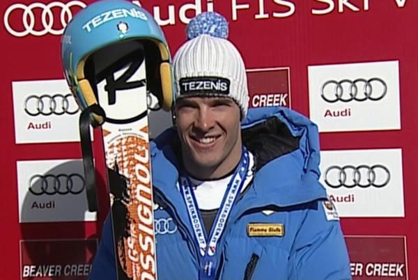 Christof Innerhofer feiert 2. Weltcupsieg in der Abfahrt