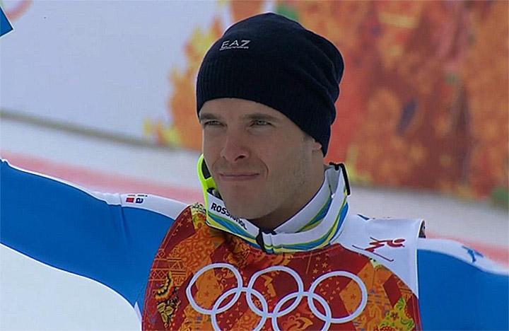 Silbermedaillengewinner Christof Innerhofer (ITA)