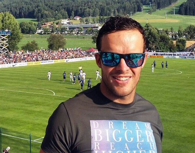 © facebook Christof Innerhofer / Christof Innerhofer zu Gast im Trainingscamp von Inter Mailand