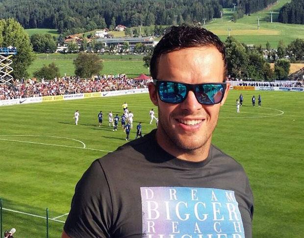 © facebook Christof Innerhofer / Christof Innerhofer zu Gast im Trainingscamp von Inter Mailand