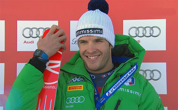 Das Feuer der Ski-Leidenschaft brennt bei Christof Innerhofer