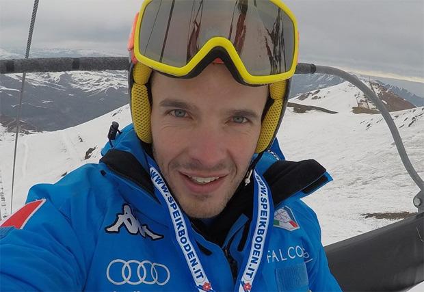 Christof Innerhofer freut sich über sehr gute Trainingsbedingungen (Foto: Christof Innerhofer / Facebook)
