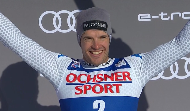 Christof Innerhofer gewinnt die Italienmeisterschaften in der Kombination