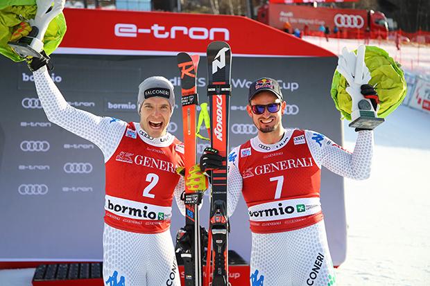 Innerhofer und Paris steigen in den italienischen Weltcup Elite Kader auf (© Archivo FISI/ Marco Trovati/Pentaphoto)
