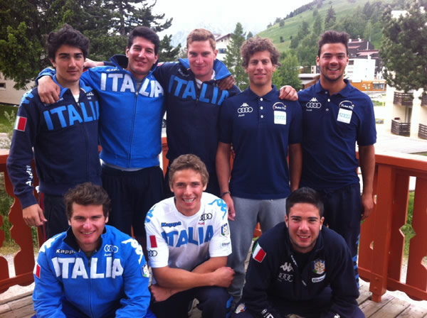 © fisi.org  /  Das Futurteam des italienischen Skiverbandes