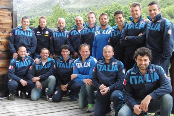 Manfred Mölgg & Co. trainieren morgen in Verano Brianza, dann in Zermatt (Foto:FISI)