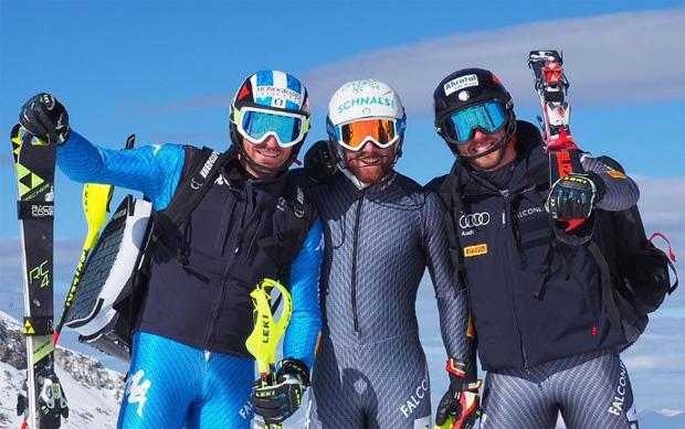 Manfred Mölgg, Riccardo Tonetti und Simon Maurberger (Foto: Manfred Mölgg / instagram)