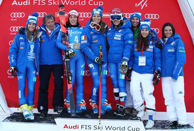 © Archivio FISI / Olympia 2018: Italienische Skidamen liebäugeln beim Riesenslalom mit einer Olympiamedaille 2018