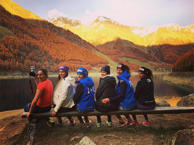 Azurblaue Ski-Mädls blicken auf ein erfolgreiches Trainingslager im Schnalstal zurück  (Foto: Chiara Costazza)