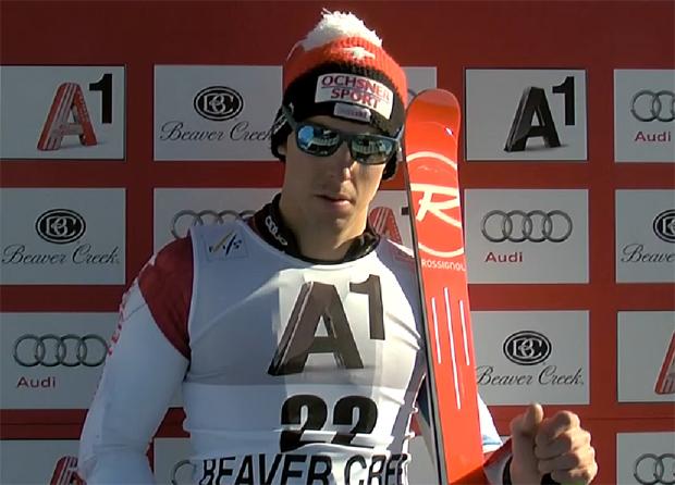 Beim Sieg von Hausherr Ted Ligety im Riesentorlauf von Beaver Creek wurde der Schweizer Carlo Janka Siebter.