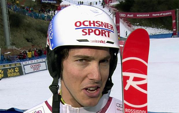 Carlo Janka gewinnt Alpine Kombination am Lauberhorn