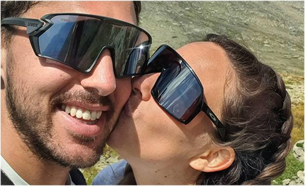 Carlo Janka heiratete seine große Liebe Jennifer (Foto: © Carlo Janka / Instagram)