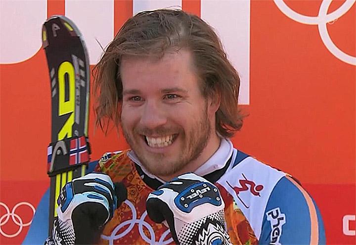 Super-G Olympiasieger Kjetil Jansrud (NOR)