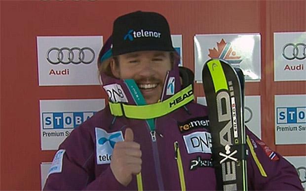 Kjetil Jansrud gewinnt die erste Saisonabfahrt der Herren in Lake Louise