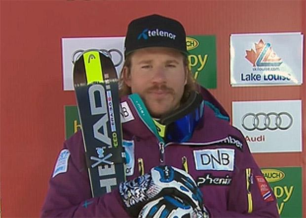 Norweger Jansrud doppelt mit dem Erfolg im Super-G von Lake Louise nach