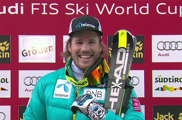 Norweger Kjetil Jansrud gewinnt Super-G in Gröden