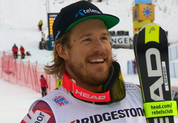 Kjetil Jansrud ist der neue Kombi-König auf dem Lauberhorn