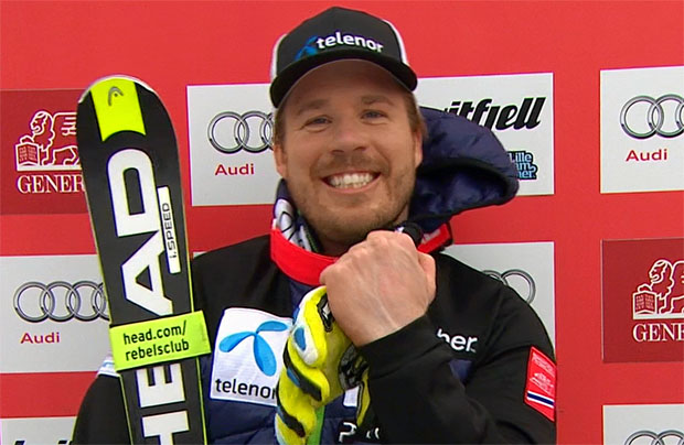 Kjetil Jansrud gewinnt Super-G von Kvitfjell