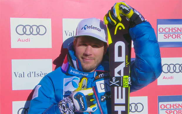Kjetil Jansrud entscheidet auch Abfahrt von Val d'Isère für sich