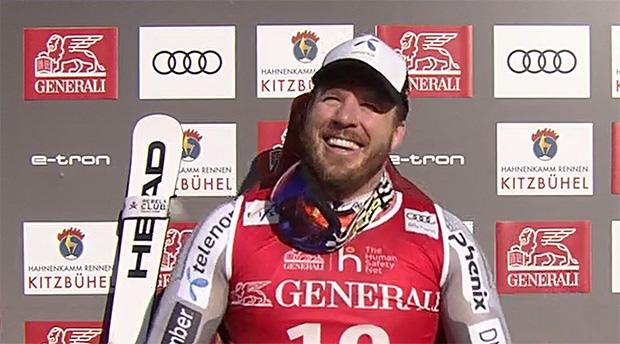 Kjetil Jansrud gewinnt Kitzbühler Super-G auf der Streif