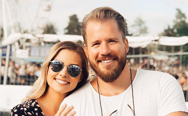 Benedicte Mortensen und Kjetil Jansrud sind überglücklich (Foto: Kjetil Jansrud / Instagram)