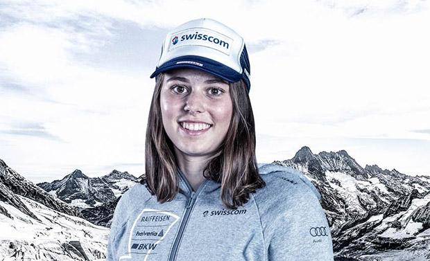 Stephanie Jenal entscheidet 1. Europacup-Super-G von Zinal für sich