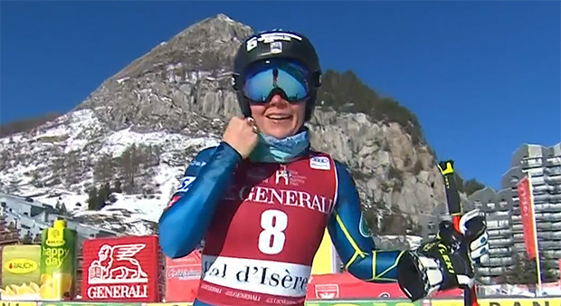 Breezy Johnson mit Bestzeit beim 2. Abfahrtstraining in Val d'Isere