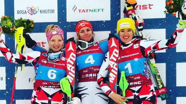 Katharina Gallhuber, Elisabeth Willibald und Katharina Huber (Quelle:  www.OESV.at)