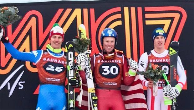 Junioren Weltmeister Sam Morse (m.), Alexander Prast (l.) und Raphael Haaser (r.) - (Foto: jwsc2017 / Instagram)