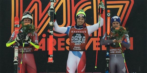 © swiss-ski.ch / Junioren WM 2017: Zweites Gold für Loïc Meillard