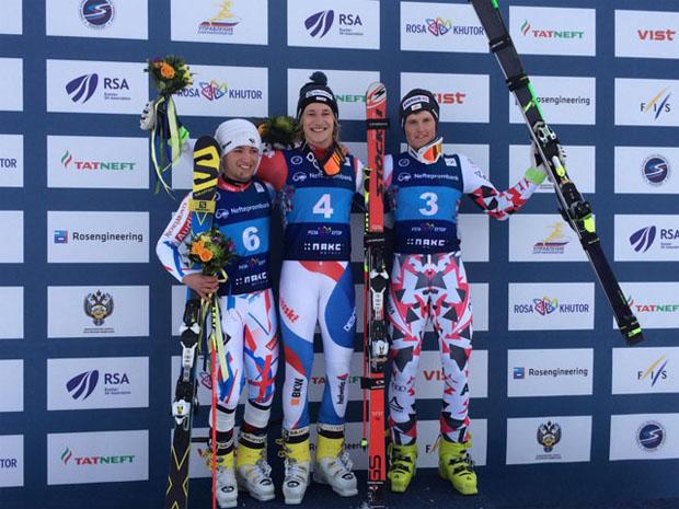 Elie Gateau, Marco Odermatt und Maximilian Lahnsteiner (Foto: Swiss-Ski.ch)