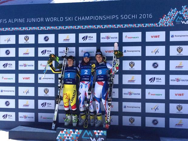 Swiss-News Junioren WM: Marco Odermatt holt Bronze in Sochi (Foto: Swiss-Ski.ch)