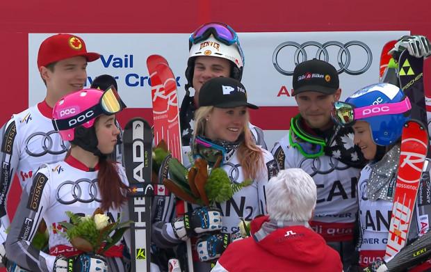 Kanada - Silbermedaille bei der Ski WM 2015 im Team-Event