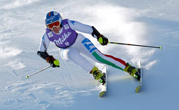 © Kraft Foods  /  Die bislang einzige Südtiroler Siegerin in Sölden: Denise Karbon