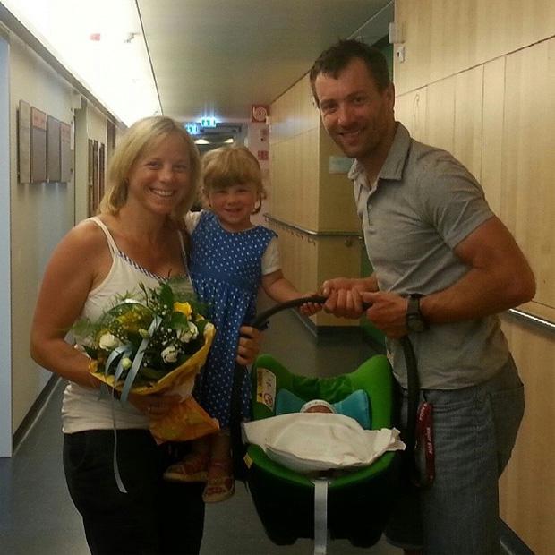 Denise Karbon wird stolze Mama des kleinen Samuel